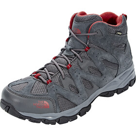 The North Face Storm Hike Mid GTX Zapatillas Hombre, dark shadow grey/rudy red
